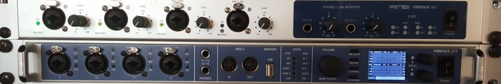 Audio-Interface RME Fireface und UFX