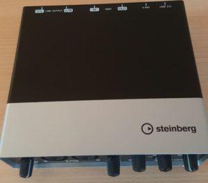 Steinberg UR22 von schräg oben
