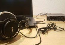 Kopfhörer Referenz Studio Mixing